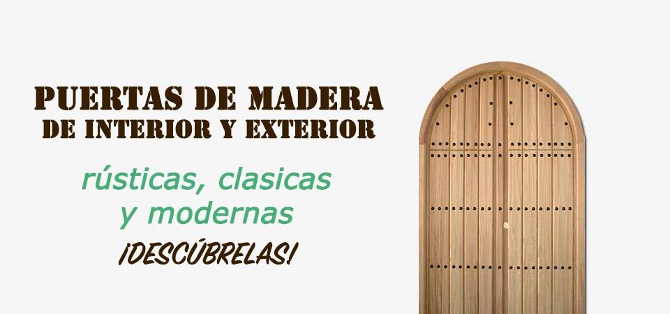fabrica de puertas de madera para interior y exterior