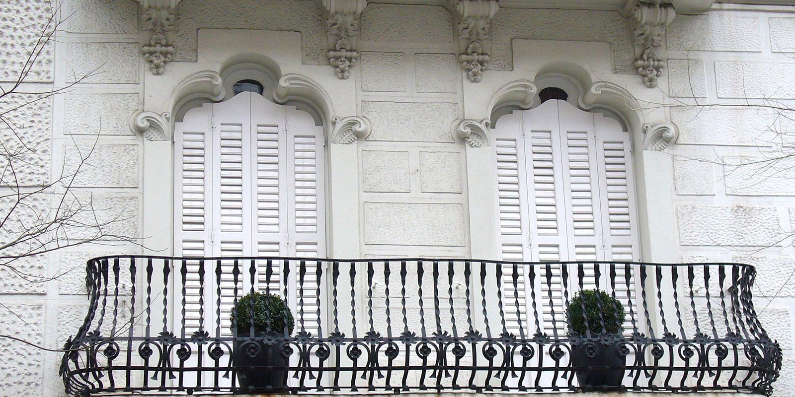 puerta ventanal 4 hojas de medio punto