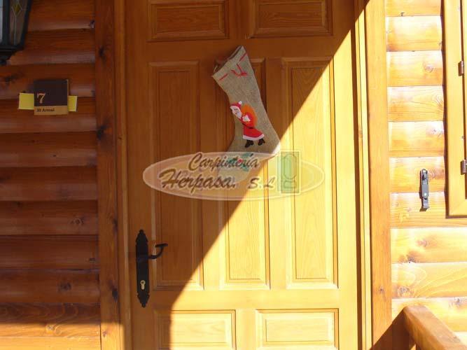 Puerta rustica para casa de madera - Puerta rustica de madera ...