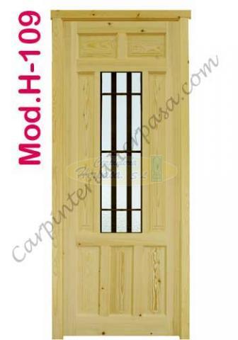 Puerta de Madera Exterior Mod. H-109