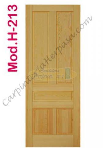 Puerta de Madera Interior Mod. H-213