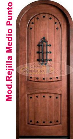 Puerta Madera Medio Punto Mod. MP-307