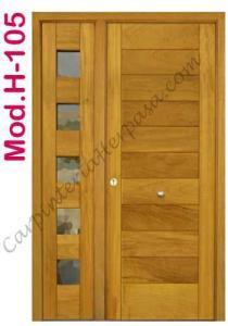 Puerta de Madera Exterior Mod. H-105