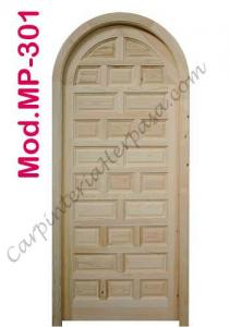 Mod. MP-301 Puerta de Madera Exterior