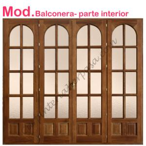 Ventanas de madera carpinteria herpasa for Puertas balcon de aluminio precios en rosario