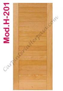 Puertas de Madera Interior Mod. H-201