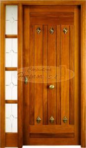 Puerta Exterior Fijo Lateral Mod. H-120