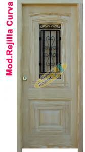 puerta mobila rejilla curva